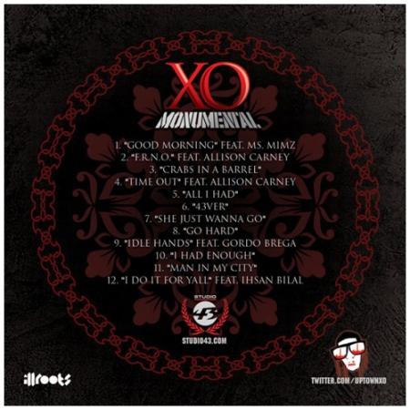 XO monumental back